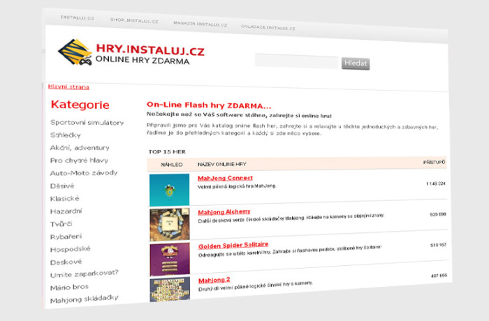 hry.instaluj.cz – online hry