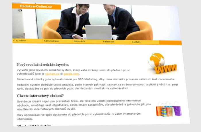 Redakční systém Redakce-Online.cz