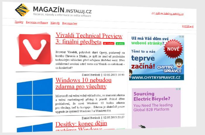 magazin.instaluj.cz – recenze, návody a informace ze světa software