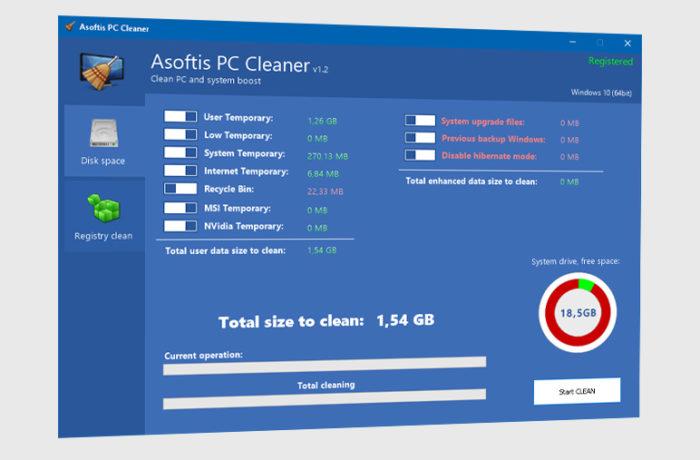 Asoftis PC Cleaner